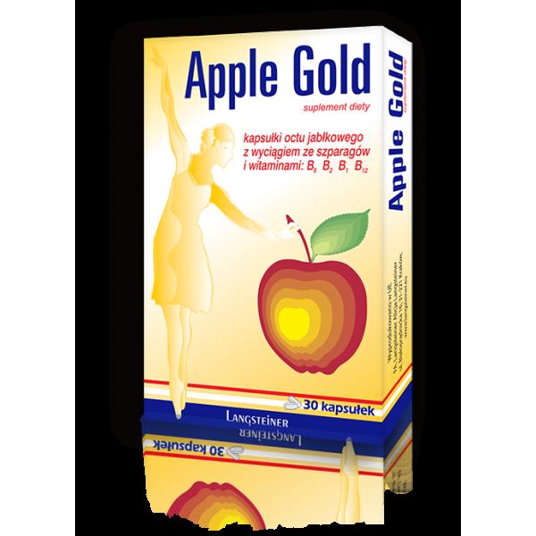 Диетическая добавка Apple Gold, 30 капсул ✿ Langsteiner ✿ 100% Оригинал