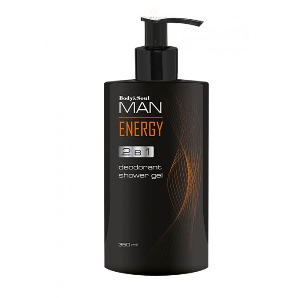 Гель для душа 2 в 1 Energy Man ✿ Body&Soul ✿ 100% Оригинал