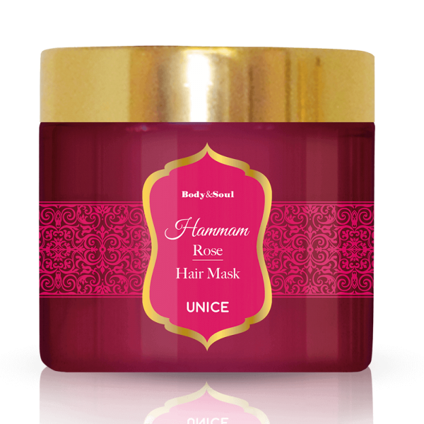 Маска для волос HAMMAM Роза ✿ Body&Soul ✿ 100% Оригинал